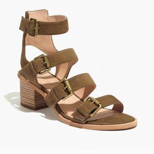 Greta Madewell gladiator sandals brown suede